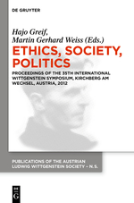 2012 Ethics, Society, Politics
