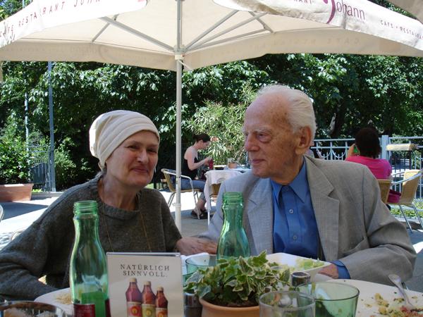 Elisabeth and Werner Leinfellner June 2009